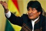Президент Боливии получил тортом в лицо