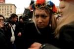 Украинских феминисток облили чаем и поколотили