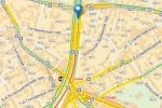В центре Москвы перевернулись две машины