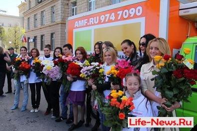 На Поклонной горе прошла акция от AMF и звезд эстрады в честь дня Победы