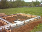 Фундамент для загородного дома своими руками