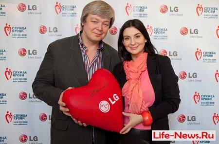 Совместный День донора LG Electronics и ИД «Аргументы и факты»