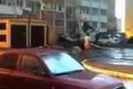 В Краснодаре ураганом сорвало крышу пятиэтажки
