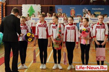 Всероссийские соревнования по спортивной аэробике «Аэробика Сибири» прошли в Новосибирске