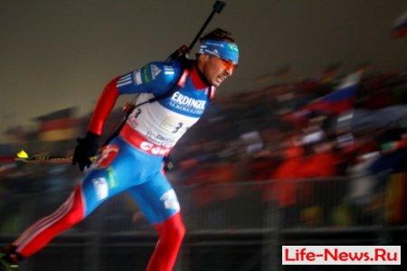 Мужская сборная России по биатлону выиграла эстафету в Оберхофе