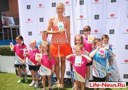 Мария Шарапова представила свой сладкий бренд в Австралии
