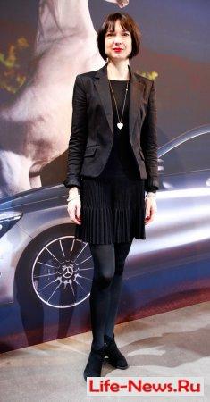 Знаменитости на неделе моды Mercedes-Benz Fashion в Берлине