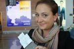 """Стюардесса """"Аэрофлота"""", уволенная за фото с неприличным жестом, восстановлена на работе"""
