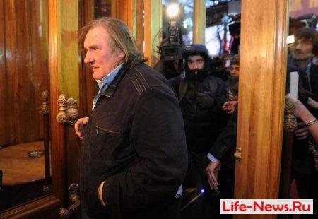 Жерар Депардье принял участие в открытии «Иллюзиона»