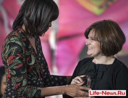 Россиянка Елена Милашина получила награду за мужество от госсекретаря США