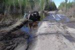 Большой участок трассы «Колыма» остается под водой