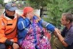 Потоп в Приамурье продолжается, скот спасают на ковчегах