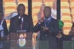 Речи мировых лидеров на панихиде по Манделе переводил шизофреник