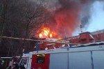 Пожар на Нагорной потушен