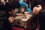 На сороковой день по погибшим в терактах, в Волгоград были принесены Дары волхвов