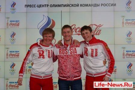 Пресс-конференция. Серебряные медали сборной России по лыжным гонкам. 20 февраля, Сочи