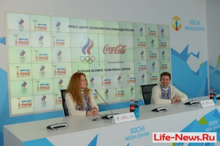 Пресс-конференция. Первое серебро России в сноуборд - кроссе. 19 февраля, Сочи