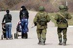 Перестрелка в Симферополе: потери понесли обе стороны