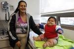 Социальные работники забрали из семьи 8-месячного двадцатикилограммового ребенка
