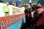 Юго-восточные регионы Украины протестуют против политики Киева