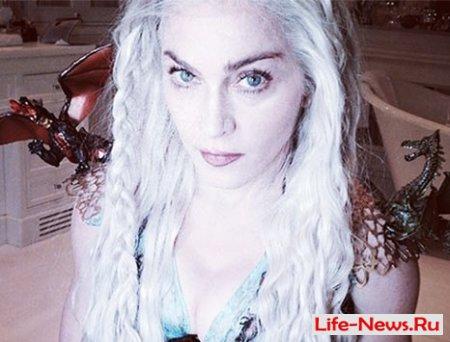 Мадонна предстала в образе Дейенерис из «Игры престолов»