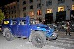 В Луганск через КПП прорвался подарок Жириновского