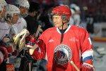 Путин забросил шесть шайб в матче с командой Ночной хоккейной лиги
