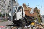 В Санкт-Петербурге столкнулись мусоровоз, маршрутка и джип, 7 человек погибли