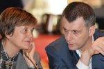 Ирина и Михаил Прохоровы уступят места в руководстве партии соратникам