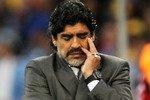 Марадона остался недоволен результатами сборной Аргентины