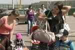 Число беженцев с Украины растет