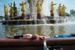 Жара не оставляет Москву