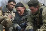 Группа украинских военных с белым флагом перешла российскую границу