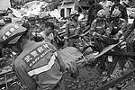 В Китае из-за сильного землетрясения погибло почти 600 человек