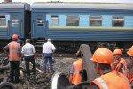 Сошли с рельсов три вагона поезда, следовавшего из  Екатеринбурга в Анапу