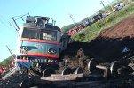В Бурятии столкнулись два грузовых состава