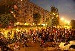 В Москве прошла восьмая велоночь