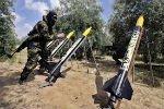 Палестинские боевики подвергли Израиль ракетной атаке