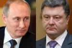 Украинский и российский лидеры - главные медиаперсоны октября