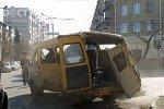 В Челябинске опрокинулась маршрутка, есть пострадавшие