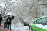 К Москве приближается ледяной дождь