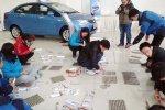 Клиент в китайском автосалоне расплатился «мелкой наличностью»