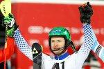 Александр Хорошилов стал первым российским горнолыжником, выигравшим Кубок мира по гигантскому слалому