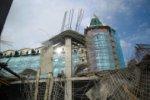 В Санкт-Петербурге обрушилось перекрытие строящегося торгового центра «Охта-Молл»