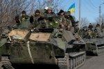 Над Дебальцево поднято знамя Новороссии