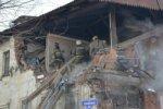 В Красноярске взрыв газового баллона разрушил жилой дом