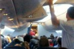 Еще один инцидент произошел на борту Боинга-757-200