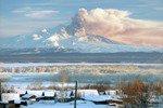 Камчатский райцентр засыпало пеплом вулкана Шивелуч