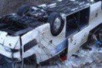 В Ростовской области с трассы ветром сдуло два автобуса