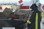 На Минском шоссе столкнулись два грузовика, однако возгорания не произошло